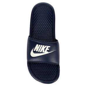 🏆NWT Men's Size 11 Nike Benassi Slides Navy